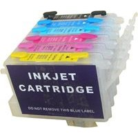 Refillable Ink Cartridges for Epson 6 Color Printer