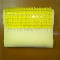 Gel memory pillows