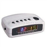 AM/FM LED Alarm Clock Radio