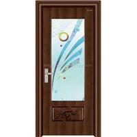 Steel-Wood Interior Door (jkd-2009)