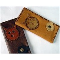 Artificial long wallet for women