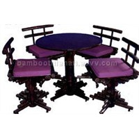 bambpp set of table &chair