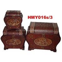 Bamboo & Wooden Box