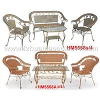 rattan Table & Chair furniture