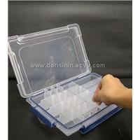 Plastic Tool Box Blue AGRAFFE-1