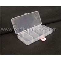 5 Compartment Plastic Translucent Organize Box -2
