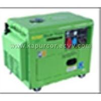 Silent diesel Generator(KDG6000SE)