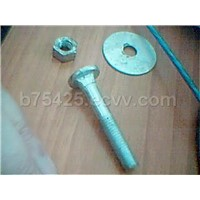 Carriage Bolts with Nuts And Washers