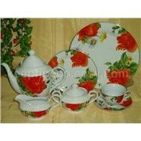 22pcs tea set