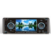 3.6 inch car DVD player wide screen TFT display