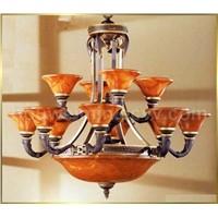 alabaster ceiling lamp