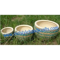 water  hyacinth flower pot