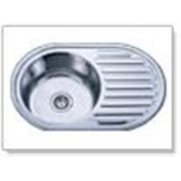 Stainless Steel Topmount Single-Bowl Sink