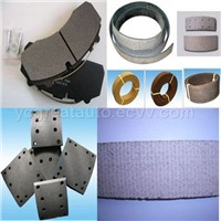 Brake pad,Brake lining,Brake shoes and Brake drums
