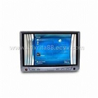 7inches headrest car monitor with touch screen