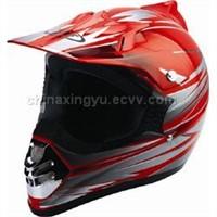 Motorcross Helmet (DP9011-RED)