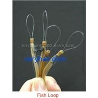 fish loop hair