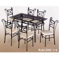 Rubi Dining Set 1+6