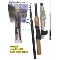 Hiker pack fishing rod