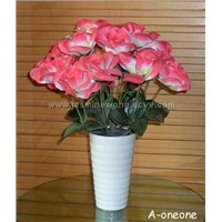 ceramic flower pot, porcelain vase