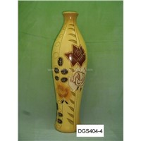 ceramic vase with rose style