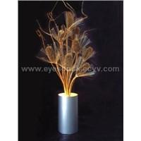 Optical Fiber Flowers