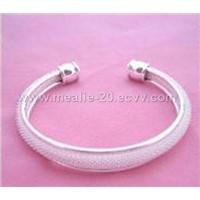 Silver fascinating Mesh Bracelet
