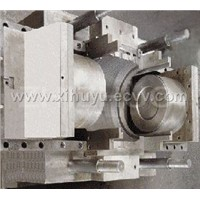 PE pipe fitting mould