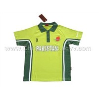 world cup ready-made polo shirt for Cricket