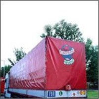 PVC tarpaulin for truck covering