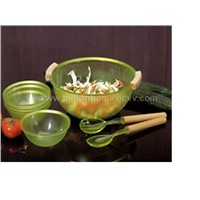 Salad server 7pcs set