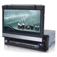 All-in-one structure dvd player with touch screen