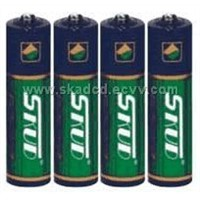 KUD Brand Super Battery R20,R14,R6,R03,9V