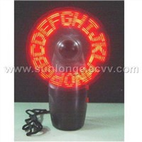 LED programmable mini fan