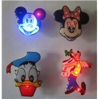 Led flashing pin, led flashing pins