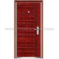 Steel Security Door (YM-618)