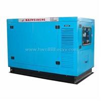 silent diesle generator set