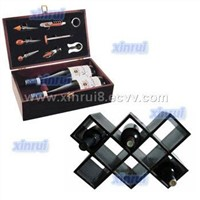 wine bottle box(accessories) & wine rack