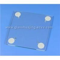 Toughened Silkscreen printed glass