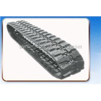 rubber track for carrying vehicle