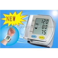 Wrist Full-automatic Speech Blood Pressure Meter