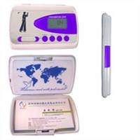 Name-card Holder Pedometer with UV Tester