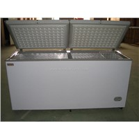 chest freezer,double top open door