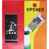 bottle opener with money clip