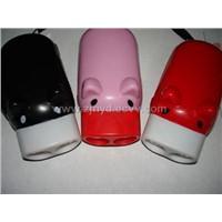 Small pig flashlight