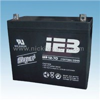12v70ah sealed lead acid battery