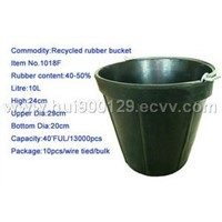 rubber bucket-1018F
