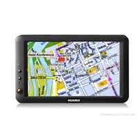 "7""LCD wide screen Navigation System with touchscre"
