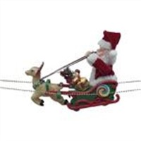 supply santaclaus cart