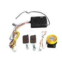 one-way motorcycle alarm system with engine start
